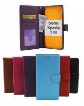 billigamobilskydd.seNew Standcase Wallet Sony Xperia 1 III (XQ-BC52)