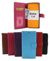 billigamobilskydd.seNew Standcase Wallet Nokia 1.4