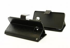 billigamobilskydd.seCrazy Horse wallet Samsung Galaxy S6 Edge (G925F) Svart