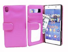 billigamobilskydd.sePlånboksfodral Sony Xperia Z3+ (E6553) Hotpink