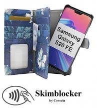 CoverInSkimblocker XL Magnet Designwallet Samsung Galaxy S20 FE / S20 FE 5G