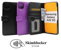 CoverInSkimblocker Plånboksfodral Samsung Galaxy A22 5G (SM-A226B)