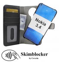 CoverInSkimblocker Magnet Fodral Nokia 3.4
