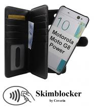 CoverInSkimblocker XL Magnet Fodral Motorola Moto G8 Power