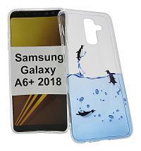 billigamobilskydd.seDesignskal TPU Samsung Galaxy A6+ / A6 Plus 2018 (A605FN/DS)