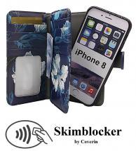 billigamobilskydd.seSkimblocker XL Magnet Designwallet iPhone 8