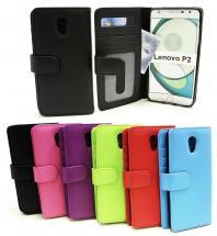 CoverInPlånboksfodral Lenovo P2
