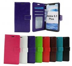 billigamobilskydd.seCrazy Horse Wallet Nokia 5.1 Plus