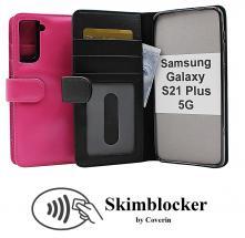 CoverInSkimblocker Plånboksfodral Samsung Galaxy S21 Plus 5G (G996B)