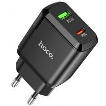 HocoHoco N5 Dual Snabbladdare Väggadapter