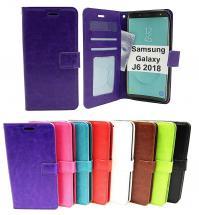 billigamobilskydd.seCrazy Horse Wallet Samsung Galaxy J6 2018 (J600FN/DS)