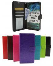 billigamobilskydd.seCrazy Horse Wallet Samsung Galaxy M20 (M205F)