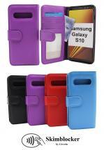 CoverInSkimblocker Plånboksfodral Samsung Galaxy S10 (G973F)