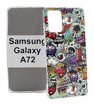 billigamobilskydd.seDesignskal TPU Samsung Galaxy A72 (A725F/DS)