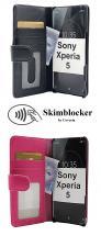 CoverInSkimblocker Plånboksfodral Sony Xperia 5