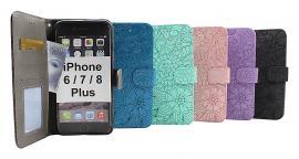 billigamobilskydd.seFlower Standcase Wallet iPhone 6 Plus / 7 Plus / 8 Plus