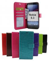 billigamobilskydd.seCrazy Horse Wallet Nokia 8.3