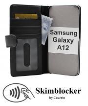 CoverInSkimblocker Plånboksfodral Samsung Galaxy A12