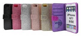 billigamobilskydd.seStandcase Glitter Wallet iPhone 6/7/8/SE 2nd Gen.