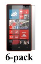 billigamobilskydd.seNokia Lumia 820 skärmskydd 6-pack