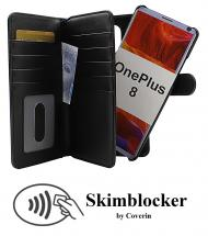 CoverInSkimblocker XL Magnet Fodral OnePlus 8