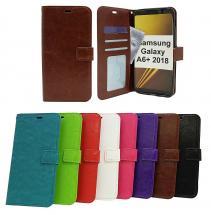 billigamobilskydd.seCrazy Horse Wallet Samsung Galaxy A6+ / A6 Plus 2018 (A605FN/DS)