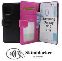 CoverInSkimblocker Plånboksfodral Samsung Galaxy S10 Lite (G770F)