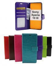 billigamobilskydd.seCrazy Horse Wallet Sony Xperia 10 III (XQ-BT52)
