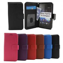 billigamobilskydd.seNew Standcase Wallet Sony Xperia X Compact (F5321)