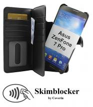 CoverInSkimblocker XL Magnet Fodral Asus ZenFone 7 Pro (ZS671KS)