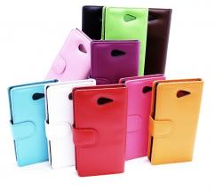 CoverInPlånboksfodral Sony Xperia M2 (D2303)