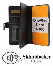 CoverInSkimblocker XL Wallet OnePlus Nord N100