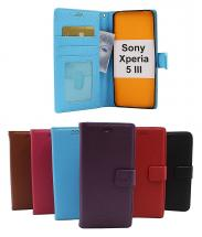 billigamobilskydd.seNew Standcase Wallet Sony Xperia 5 III (XQ-BQ52)