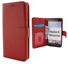 billigamobilskydd.seNew Standcase Wallet Nokia 8 Sirocco