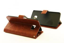 billigamobilskydd.seCrazy Horse wallet Samsung Galaxy S6 Edge (G925F) Brun