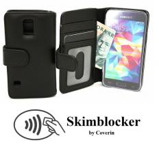 CoverInSkimblocker Plånboksfodral Samsung Galaxy S5 Mini (G800F)