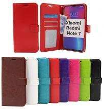 billigamobilskydd.seCrazy Horse Wallet Xiaomi Redmi Note 7