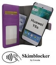 billigamobilskydd.seSkimblocker Magnet Wallet Huawei Y6s