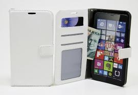 billigamobilskydd.seCrazy Horse wallet Microsoft Lumia 640 XL Vit