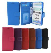 billigamobilskydd.seNew Standcase Wallet Huawei P20 Lite (ANE-LX1)
