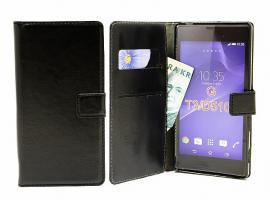 billigamobilskydd.seCrazy Horse wallet Sony Xperia T3 (D5103)