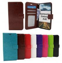 billigamobilskydd.seCrazy Horse Wallet Samsung Galaxy A40 (A405FN/DS)