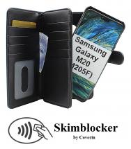 CoverInSkimblocker XL Magnet Fodral Samsung Galaxy M20 (M205F)