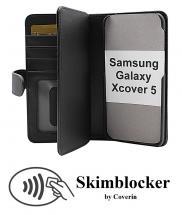 CoverInSkimblocker XL Wallet Samsung Galaxy Xcover 5 (SM-G525F)