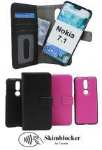 CoverInSkimblocker Magnet Fodral Nokia 7.1