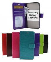 billigamobilskydd.seCrazy Horse Wallet Samsung Galaxy Xcover 5 (SM-G525F)