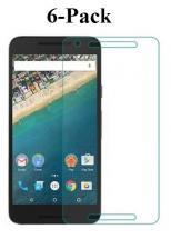 billigamobilskydd.se6-Pack Skärmskydd Google Nexus 5X (H791)