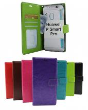 billigamobilskydd.seCrazy Horse Wallet Huawei P Smart Pro (STK-L21)