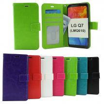 billigamobilskydd.seCrazy Horse Wallet LG Q7 / LG Q7 Plus (LMQ610)