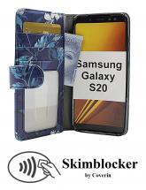CoverInSkimblocker Designwallet Samsung Galaxy S20 (G980F)